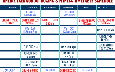 Stage 3 Restrictons Timetable from 13 July 2020