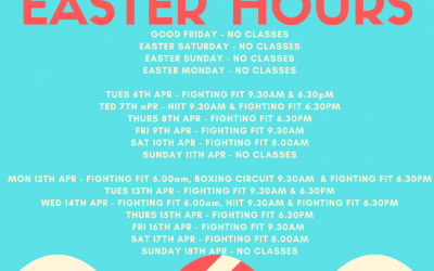 Term 1 Taekwondo Classes & Kids Boxing conclude 1st Apr and resume 19th April